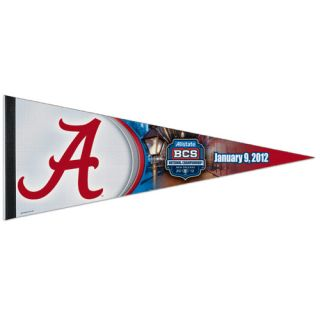 Alabama Crimson Tide 2012 BCS National Championship Game Pennant