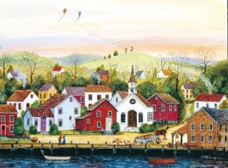Simple Times Jigsaw Puzzle High Flyers Mary Ann Vessey