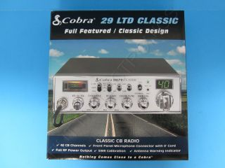 Cobra 29LTD Classic 40 Channel CB Radio New