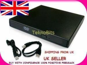 External CD DVD ROM Combo Drive Laptop Notebook Pcs