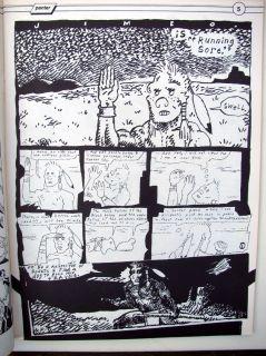 Raw Magazine Vol 1 3 Gary Panter Maus Insert 1981 RARE