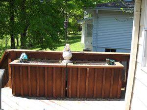 LARGE Wooden Raised Garden Bed Deck Herb Flower Planter Boxes GUC
