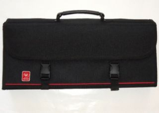 TRIDENT CORDURA COOKS KNIFE CASE FOR 17 PIECES PROFESSIONAL CHEFS BAG