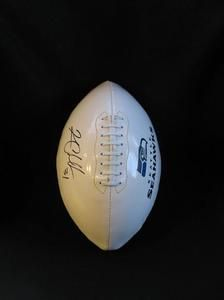Autographed Seattle Seahawks Football by 31 KAM Chancellor