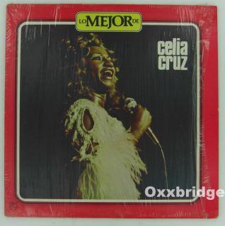 Celia Cruz Lo Mejor de Tico CLP 1316 Latin Soul Near Mint Shrink Clean