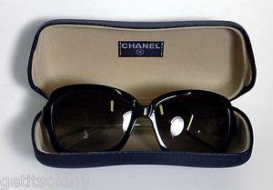 CHANEL Designer Style 5143 CC logo Tortoise Sunglasses w Case