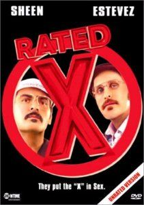 Rated x 2000 Charlie Sheen DVD New