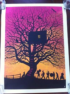 Treehouse Variant not Dave Matthews Band Charlottesville Poster