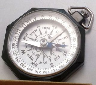 Vintage Girl Scout Compass GS USA Taylor Compass in Box