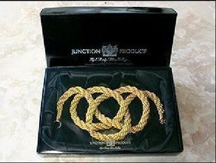 New JP JDM Junction Produce Auto Car VIP Kin Tsuna Rope Large Gold