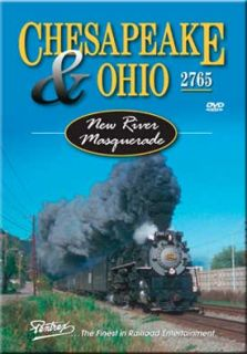 Chesapeake & Ohio 2765 Steam New River Masquerade DVD NEW Pentrex C&O