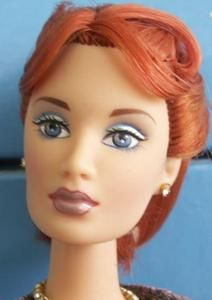 Mikelman Wedding Day Red Head Charice in Couture OOAK