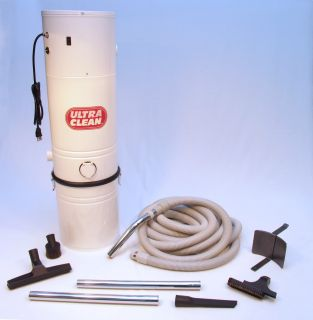 Central Vacuum Power Unit 35 Hose Set 3 Inlet Installation Kit