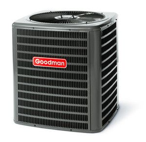 GOODMAN 13 SEER CENTRAL AIR CONDITIONER 2 TON   Nitrogen Charged R22