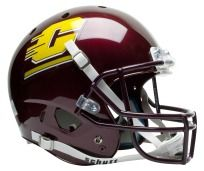 CENTRAL MICHIGAN CHIPPEWAS Schutt AiR XP REPLICA Football Helmet