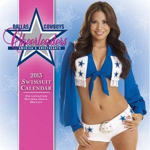 Dallas Cowboys Cheerleaders 2013 Box Calendar