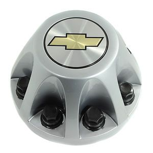 2008 10 Chevy Silverado 3500 Dually Painted Silver Rear Center Cap