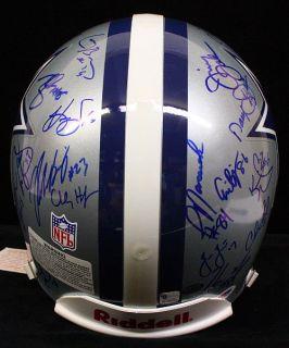 1993 Dallas Cowboys Team Signed by 31 Proline F s Football Helmet PSA