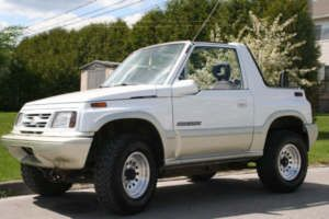 Suzuki Sidekick Samurai Chevy Tracker 1986 1998 Body Lift 3