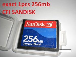 1pcs 256MB SANDISK Compact flash CF I memory card FOR NIkon Canon