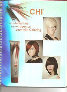 Farouk CHI Ionic Permanent Hair Color Education Guide Book Shade