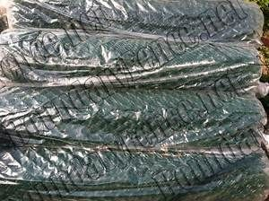 Green Chain Link Fence Choose Your Size 2x9 Gauge