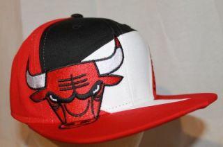 Chicago Bulls NBA Adidas Snapback Hat Cap Swoosh Multi Team Color