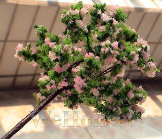 20 x HO Scale Model Trees Cherry Blossom