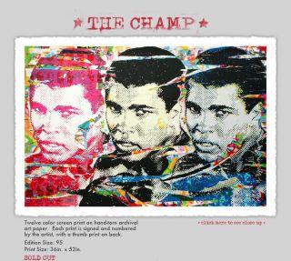 Mr Brainwash The Champ 2011 MBW Banksy Exit Through The Gift Shop Ali