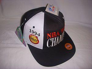 Rockets Snapback Hat Cap Starter Classic World Champions NBA Vtg OG