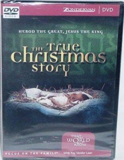 The True Christmas Story Ray Vander Laan Christian DVD