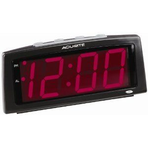 Chaney Instruments Digital Alarm Clock Large Display