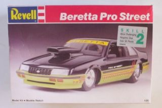 Molded N Orange Pro Street Chevy Beretta Revell 1 25 VHTF Plastic Car