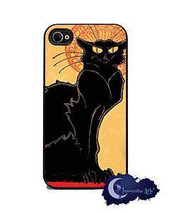Tournee Du Chat Noir iPhone 4 4S Slim Case Cell Phone Cover