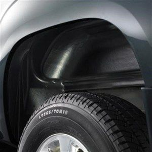 Chevrolet Silverado 2500HD and 3500HD 2011 2012 Rear Wheel Liners