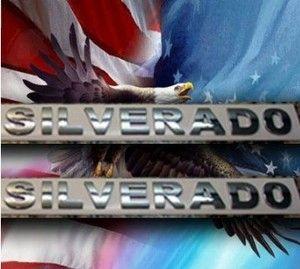 New Chevy Silverado SS Chrome Badge Emblem