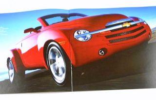 2005 05 Chevrolet Chevy SSR Truck Brochure