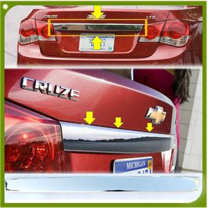Chevy Cruze Chrome Rear Trunk Handle Garnish Moulding Trim Chevrolet