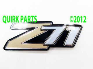 2000 2006 Chevy Suburban Tahoe Z71 Side or Endgate Emblem Genuine