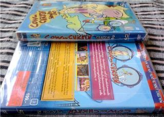 Cow and Chicken Complete Season 2 Cartoon Network Classic DVD 2 Discs