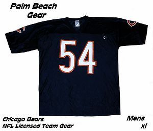 CHICAGO BEARS NFL BRIAN URLACHER (#54) REPLICA JERSEYxlHOT LIST