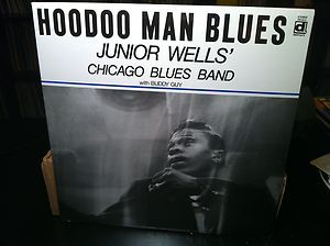 Wells Chicago Blues Band with Buddy Guy Hoodoo Man Blues LP