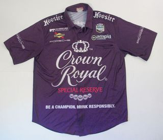 Cheever Racing Porsche Rolex Grand Am Crown Royal Sunoco L Team Shirt