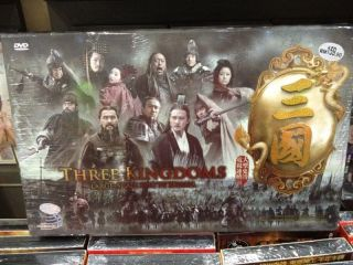 Three Kingdoms 2011 Large Scale Epic TV Drama DVD Limited Premium Ed w