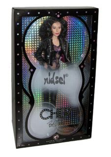 Barbie Bob Mackie Cher 80s Turn Back Time Black Label Celebrity Doll