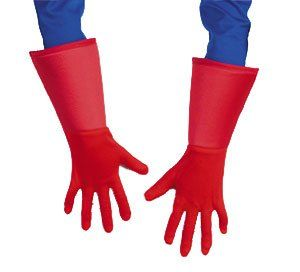 Captain America Gloves   Child Boys Halloween Costume Accessory