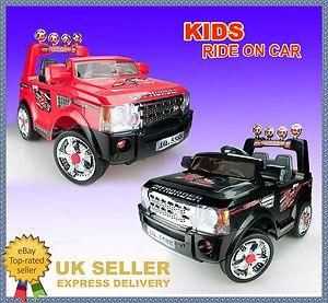 12V Twin Motor Kids Children Ride on Car Electric Land Rover JJ012