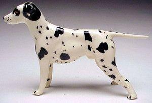 Robert Simmons Ceramics California Pottery Chet Black White Dalmatian