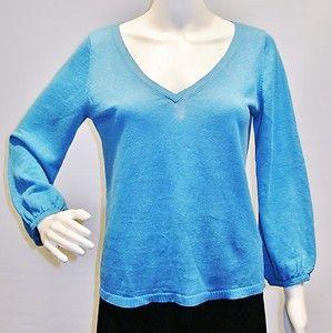 Calypso Christiane Gelle blue sweater size S
