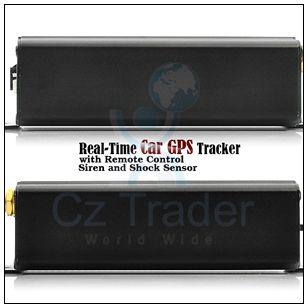 Vehicle Car GPS Tracker TK103B Remote Shake Shock Sensor Siren Anti